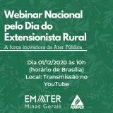 Asbraer e Emater/MG promovem evento nacional para o dia do Extensionista